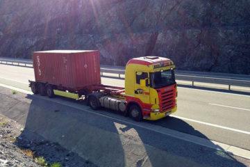 Transporti i Kontejnerëve